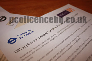 PCO Licence CRB/DBS Check