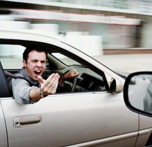 Minicab Road Rage